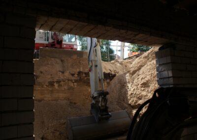 uitgraven kelder onder bestaande woning